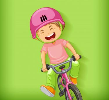 へんしんバイク12インチに3歳(91cm)と5歳(104cm)と9歳(124cm)が乗ってわかったサイズ感